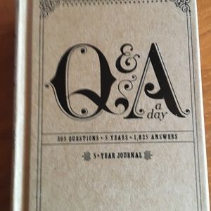 Other - New 5 year journal book